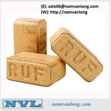 RUF WOOD BRIQUETTES_COMPETITIVE PRICE IN VIETNAM