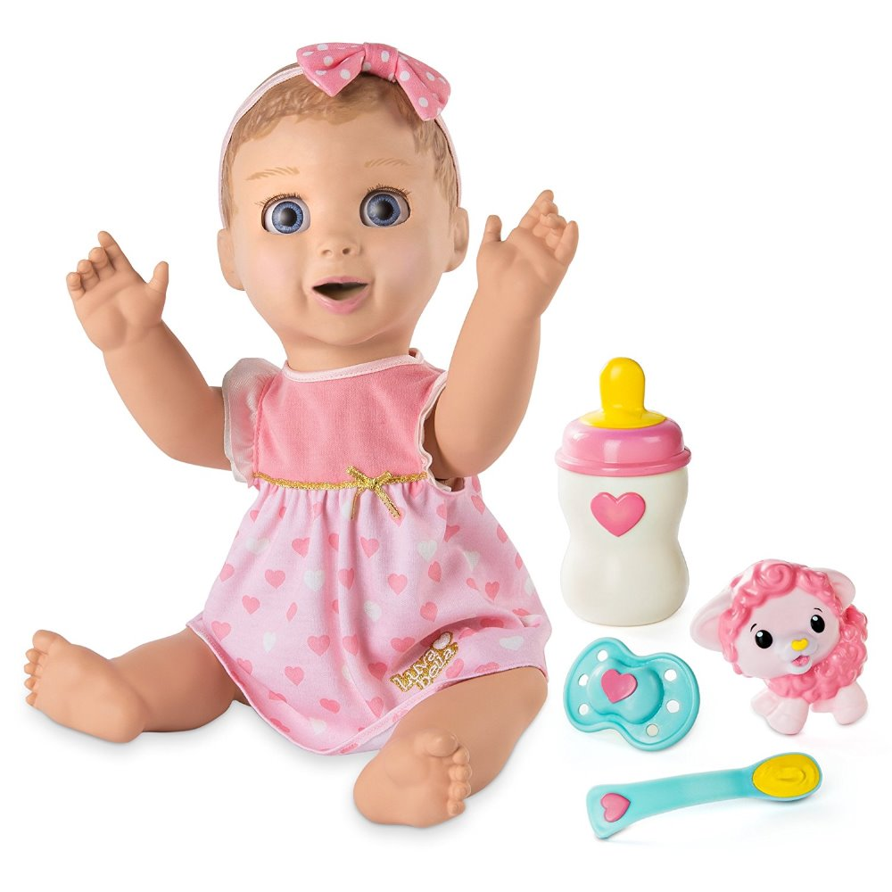 THE LUVABELLA INTERACTIVE BABY DOLL BY SPIN MASTER