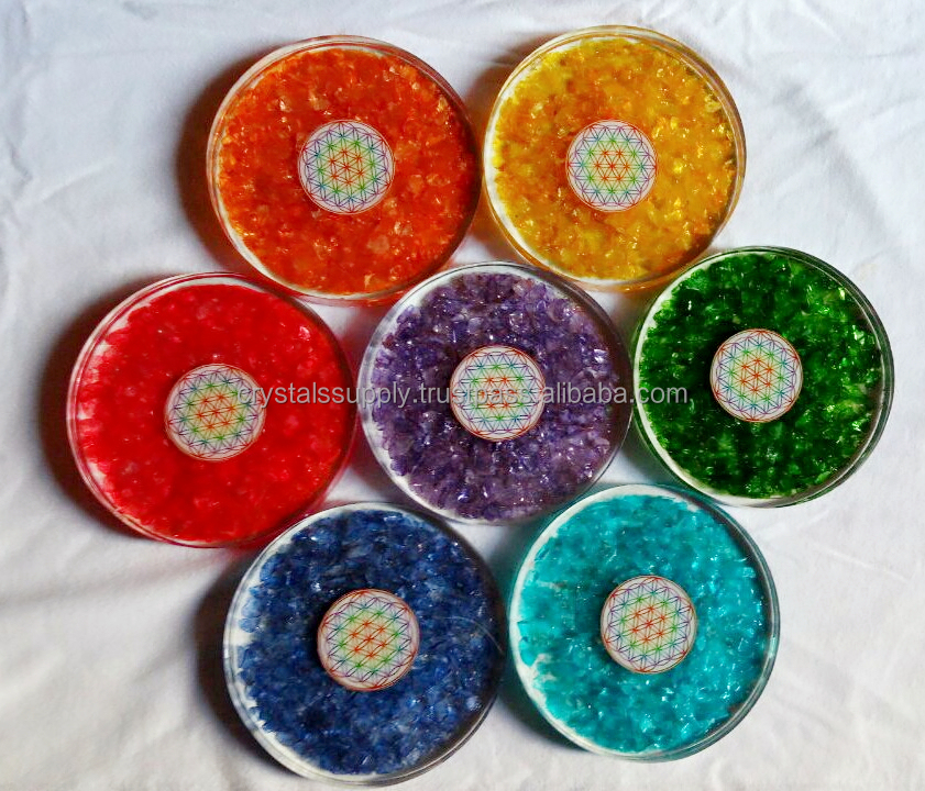 Coaster Cup Orgone Coaster Drink Cup Mat : Wholesale Orgone Coaster For Table Decoration New Design