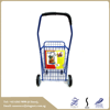 Hot sale new design cheap Household small wheel blue Shopping cart trolley