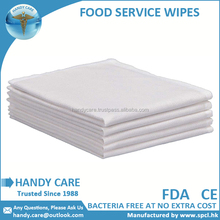 Eco-friendly Disposable Nonwoven Food Cleaning Wipes