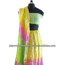 Indian Gujrati lehenga choli