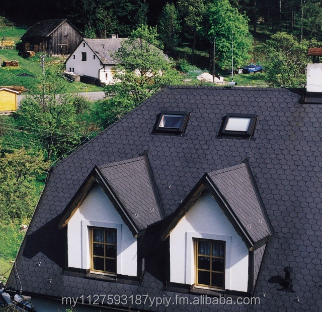 Asphalt roofing shingle traditional