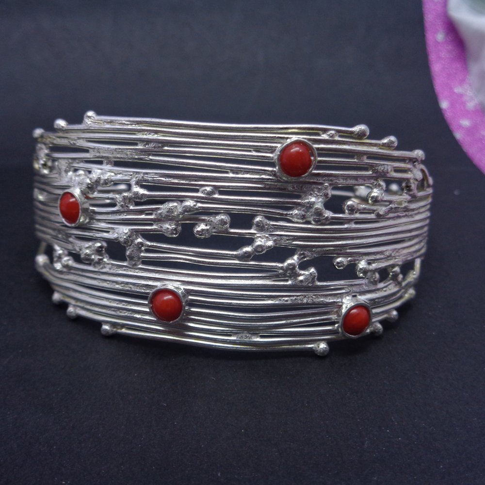 925 Sterling Silver Classical Design Plain Bangle