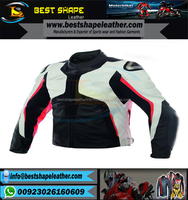 Men Motorcycle Leather Jackets / Street Racing Touring Jacket / Motorbike Leather Garments / Apparels / Wears / Clothing