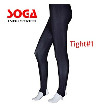 All Colours & Sizes Shiny Lycra Shiny Stirrup Dance Gym Leggings By Soga Industries