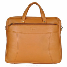 Genuine Leather 13.3 inch Laptop Messenger Bag India