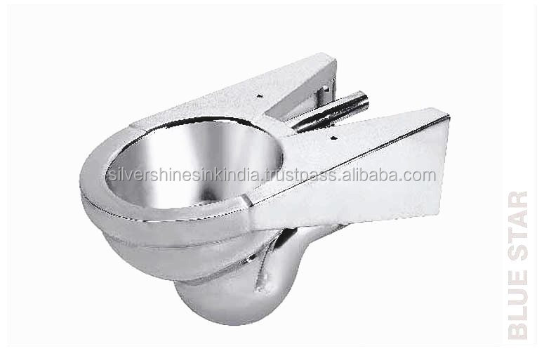 Stainless Steel European Water Closet P- TRAP Wall Hung