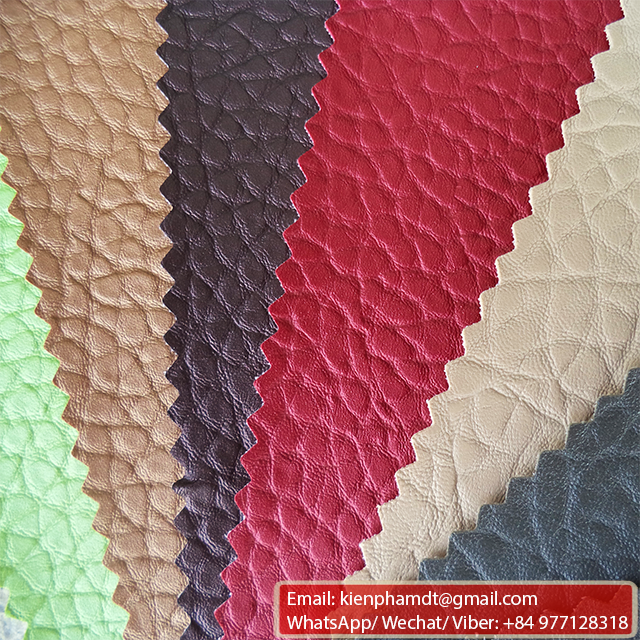 Good quality Decorate PVC synthetic Leather for furniture