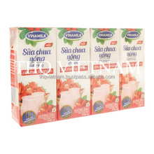 [THQ VIETNAM ] VINAMILK UHT Drinking Yogurt Strawberry 170ml*28boxes