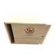 Wood square sliding lid storage tea packaging box