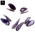 Crystals antique healing geode slices wings home decor decoration purple agate butterfly