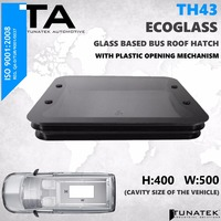 400x500 Glass Bus Roof Hatch Ventilation
