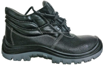 Ankle High DESMA leather Material Safety Shoes