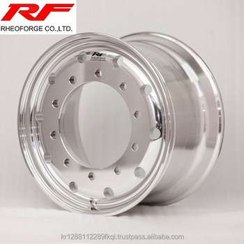 22.5*11.75 Forged Aluminum Truck and Bus Alloy Wheel 22.5x11.75 machine polish