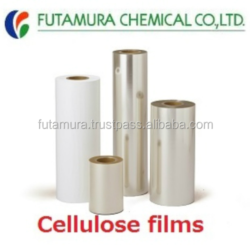 High quality and High perfomance biodegradable heat resistant plastic film cellulose film for industrial use