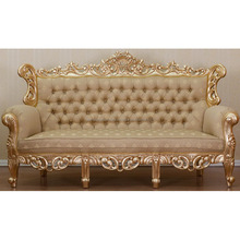 Luxury Sofa 3 Seater From Teak Wood with Hand carving Furniture Jepara Furniture