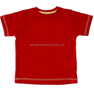plain Kids Cheap wholesale t shirts factory direct sale tirupur