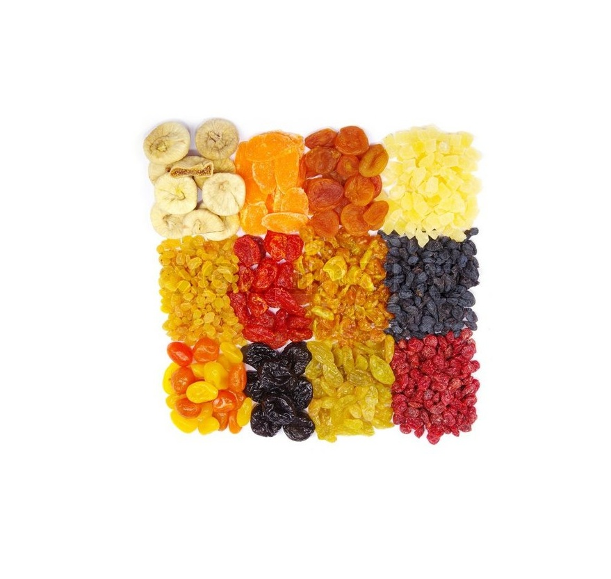 Dried Fruits / Mix Dried Fruits of Different Types
