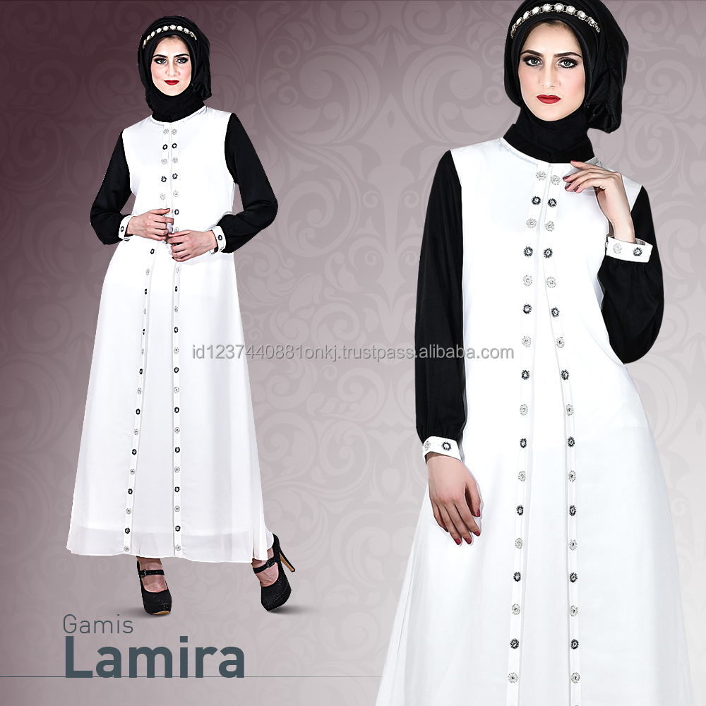 Best Collection 2017 Gamis Lamira Abaya Clothing for woman