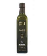 Faris Kalamata , Greece PDO - Greek Extra Virgin Olive Oil - 250ml Marasca / Dorica Glass Bottle