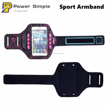 LED Jogging Running Outdoor Sports Phone Armband Case for 4.7 5.5 Inches