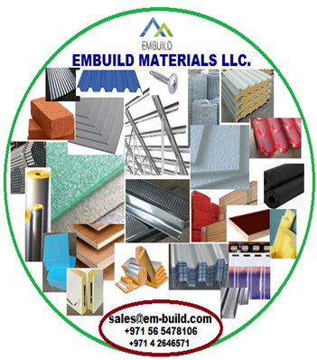United Arab Emirates Building Material supplying Company EMBUILD MATERIALS LLC. Dubai