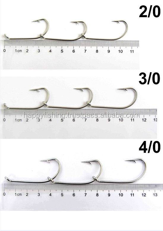 Masterpro Chemically sharpened hooks Stainless Steel Gang Hook