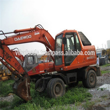 Used Daewoo DH130w wheel excavator ,korea made Daewoo DH130w wheel excavator , low Fuel consumption