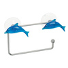 Tatkraft BLUE DOLPHIN NO DRILLING Wall Mounted Paper Roll Holder
