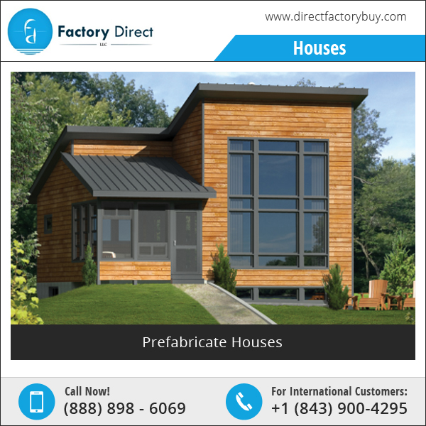 Pre-Made Easy Install Steel Prefab Mobile Home Manufacturer