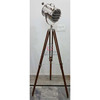Search Light With Tripod Stand, Nautical Designer Spotlight Tripod Floor Lamp