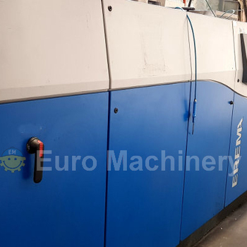 Highly efficient and High output Top European EREMA TVE brand plastic film recycling machine with silo