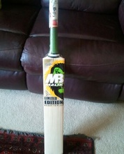 LIMITED EDITION MB MALIK CRICKET BAT