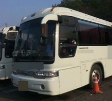 SECOND HAND Kia Bus Granbird Parkway 410HP BUS FOR SALE