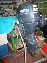 FOR USED YAMAHA 30HP 4 STROKE OUTBOAD MOTOR BOAT ENGINE