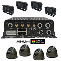 8 channel mobile car dvr recorder High Definition Hard Disk hdmi mobile NVR 8 channel mobile dvr