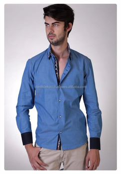 Blue Slim Shirt, Dress shirt Slim fit shirt, slim-fit shirt, Dress shirt, Shirt, men shirt,