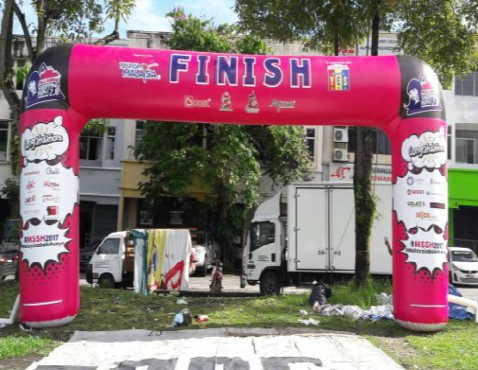 Customized Marathon Inflatable Arch