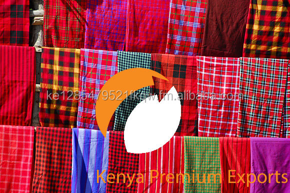 MASAI MAASAI BLANKET SHUKA AFRICAN THROW WRAP CHECKED PLAID CLOTH