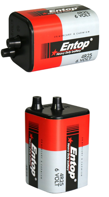 Entop Brand Good Performance 6V battery