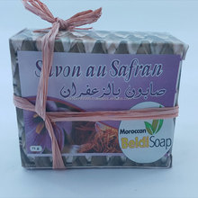 Moroccan Handmade Natural Bar Soap with Saffron