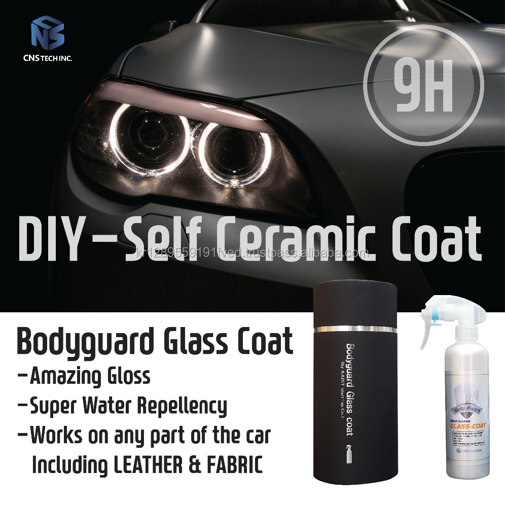 BODYGUARD CERAMIC COAT- 9H Hydrophobic Nano Ceramic Coating/World's First DIY Authentic Ceramic Coat