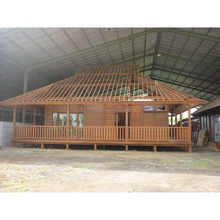 High Quality Prefabricated Wooden House For Living