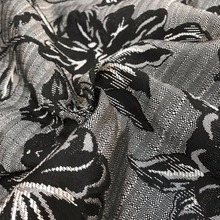 WOVEN JACQUARD UPHOLSTERY FABRIC