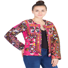 Banjara Styles Handmade Embroidery Tribal Kuchi Mirror Work Bolero New Styles Jacket