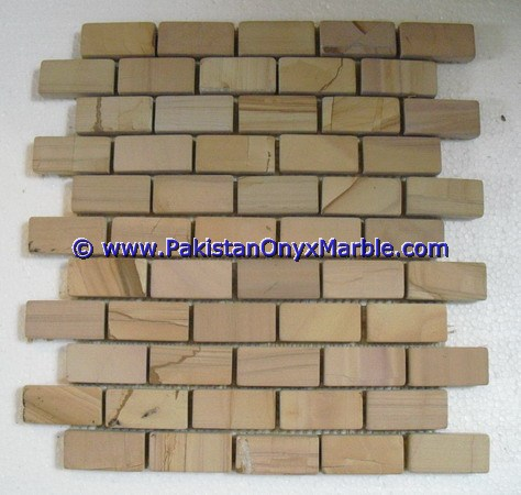 TEAKWOOD ( BURMATEAK ) MOSAIC TILES FOR FLOORING