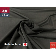Best-selling and High grade outlast temperature adjustment fabric made in japan