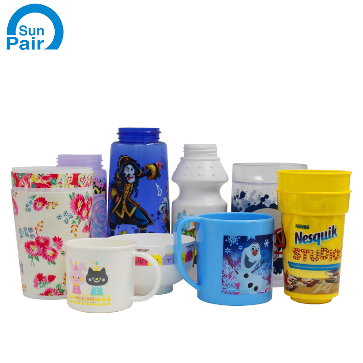 High Quality PET Heat transfer printing label for cups