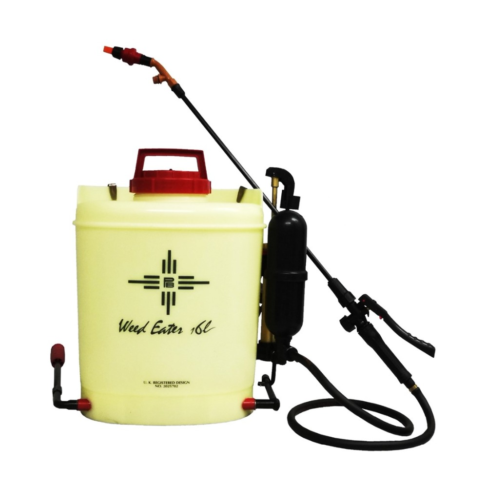 16L Malaysia Cross Mark High Pressure Low Volume Professional Plantation Sector Agriculture Knapsack Sprayer Weed Eater